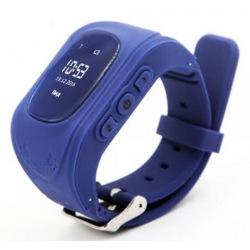 Детские GPS часы-телефон GOGPS ME K50 Темно Синий (K50DBL)