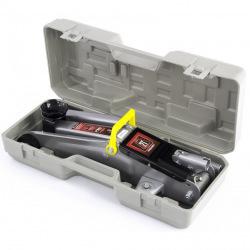 Домкрат MTX гидравлический подкатной, 2 т, h подъема 135-385 мм, в пластиковом  кейсе,  MTX MASTER (MIRI510289)