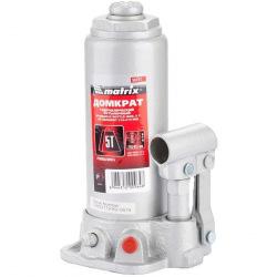 Домкрат MTX гидравлический бутылочный, 5 т, h подъема 216-413 мм, MTX MASTER (MIRI507219)