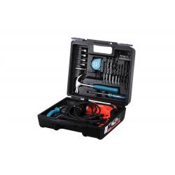 Дриль Makita M8103KX2 ударная 430Вт, 13мм + комплект ручного інструменту (M8103KX2)