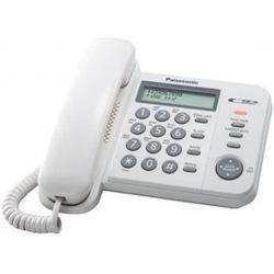 Проводной телефон Panasonic KX-TS2356UAW White (KX-TS2356UAW)