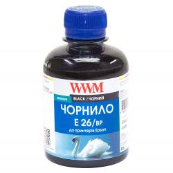 Чернила WWM E26 Black для Epson 200г (E26/BP) пигментные