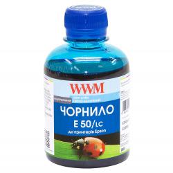 Чернила WWM E50 Light Cyan для Epson 200г (E50/LC) водорастворимые