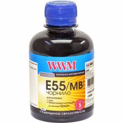 Чернила WWM E55 Matte Black для Epson 200г (E55/MB) водорастворимые