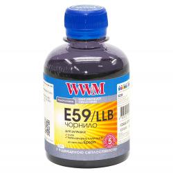 Чернила WWM E59 Light Light Black для Epson 200г (E59/LLB) водорастворимые