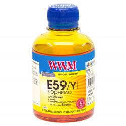 Чернила WWM E59 Yellow для Epson 200г (E59/Y) водорастворимые