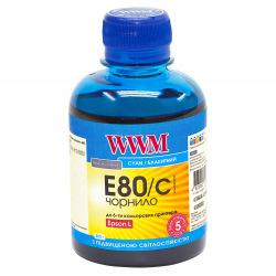 Чернила WWM E80 Cyan для Epson 200г (E80/C) водорастворимые