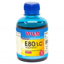 Чернила WWM E80 Light Cyan для Epson 200г (E80/LC) водорастворимые