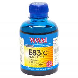Чернила WWM E83 Cyan для Epson 200г (E83/C) водорастворимые