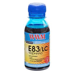 Чернила WWM E83 Light Cyan для Epson 100г (E83/LC-2) водорастворимые