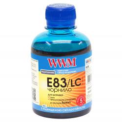 Чернила WWM E83 Light Cyan для Epson 200г (E83/LC) водорастворимые