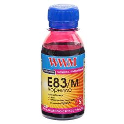 Чернила WWM E83 Magenta для Epson 100г (E83/M-2) водорастворимые