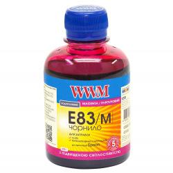 Чернила WWM E83 Magenta для Epson 200г (E83/M) водорастворимые