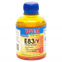 Чернила WWM E83 Yellow для Epson 200г (E83/Y) водорастворимые