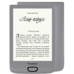 Электронная книга PocketBook 616, Matte Silver (PB616-S-CIS)