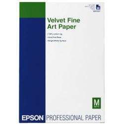 Фотопапір Epson Velvet FineArt Paper, 260Г/м кв, А3 +, 20л (C13S041637)