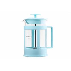 Френч-прес Ardesto Fresh, 800 мл, блакитний тіффані, пластик, скло (AR1008TF)