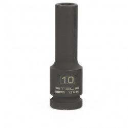 Головка утакрная удлиненная шестигранная, 10 мм, 1/2, CrMo Stels (MIRI13934)