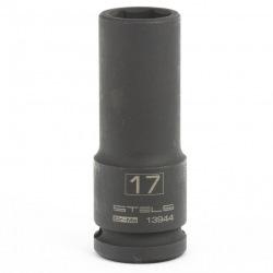 Головка утакрная удлиненная шестигранная, 17 мм, 1/2, CrMo Stels (MIRI13944)