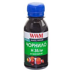 Чернила для СНПЧ WWM H35 Black для HP 100г (H35/BP-2) пигментные
