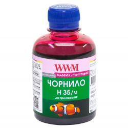 Чернила для СНПЧ WWM H35 Magenta для HP 200г (H35/M) водорастворимые