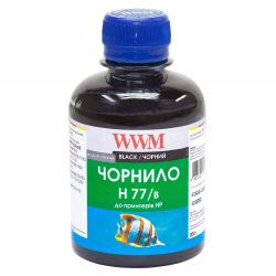 Чернила WWM H77 Black для HP 200г (H77/B) водорастворимые