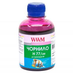 Чернила WWM H77 Light Magenta для HP 200г (H77/LM) водорастворимые
