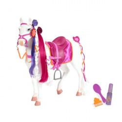 Игровая фигура Our Generation Кінь Принцеса з аксесуарами 50 см  (BD38003Z)
