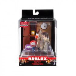 Игровая коллекционная фигурка Jazwares Roblox Desktop Series Meep City: Principal Panic W6 (ROB0261)
