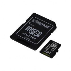 Карта пам'яті Kingston 512GB microSDXC C10 UHS-I U3 A1 R100/W85MB/s Canvas Select Plus + SD адаптер (SDCS2/512GB)