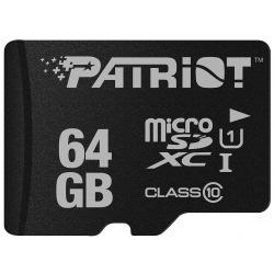 Карта пам'яті Patriot 64GB microSDXC C10 UHS-I LX + SD (PSF64GMCSDXC10)
