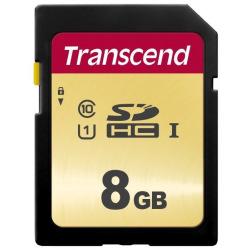 Карта памяти Transcend 8GB SDHC C10 R20MB/s (TS8GSDC300S)