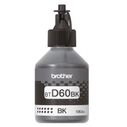 Чернила Brother D60 Black (BTD60BK) 108мл