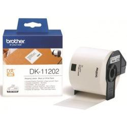 Картридж Brother для спеціалізованого принтера QL-1060N/QL-570/QL-800 (трн.наклейки 62mm x 100mm) (DK11202)