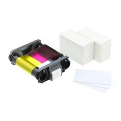 Картридж для принтера Badgy100/200 (кольорова стрічка на 100 відбитків + 100 карток 0.76мм) (CBGP0001C)