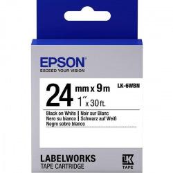 Картридж Epson LC-6WBN9 Standart Black/White 24mm x 9m (C53S656006)