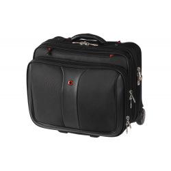 """Кейс-пилот для ноутбука 16"""", Wenger Patriot 2 Pc Wheeled Laptop Case, чёрный (600662)"""
