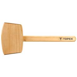 Киянка Topex деревянная, 500 г, деревянная рукоятка (02A050)