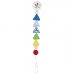 Клипса для пустышки Heimess Треугольники (741550)