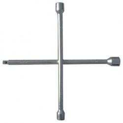 """Ключ-хрест балонний, 17х19х21 мм, під квадрат 1/2"""", товщина 14 мм, СИБРТЕХ (MIRI14258)"""