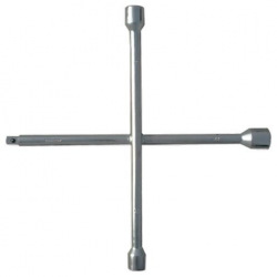 """Ключ-хрест балонний, 17х19х21 мм, під квадрат 1/2"""", товщина 16 мм,  MTX (MIRI142479)"""
