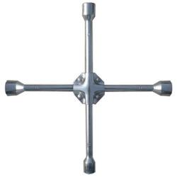 Ключ-хрест балонний 17х19х21х22 мм, посилений, товщина 16 мм,  MTX PROFESSIONAL (MIRI142449)