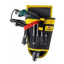 Кобура Topex для электроинструментов, 4 гнезда для сверл (79R415)