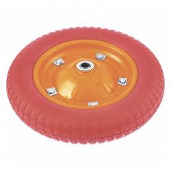 Колесо поліуретанове 3.00-8, довжина осі 90 мм, підшипник 20 мм,  Palisad (MIRI689768)