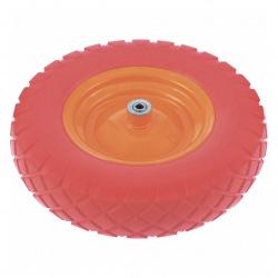 Колесо поліуретанове 4.80 / 4-8, довжина осі 90 мм, підшипник 20 мм,  Palisad (MIRI689778)