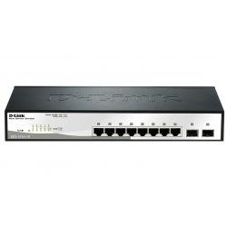 Коммутатор D-Link DGS-1210-10/F 8x1GE, 2xSFP Smart III (DGS-1210-10)