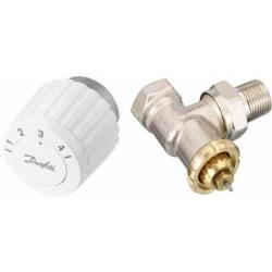 Комплект RTL DN 15 - угловой комплект, ограничитель температуры обратного потока (003L1013 + 003L1040) (003L1081)