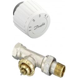Комплект RTL DN 15 - прямой комплект, ограничитель температуры обратного потока (003L1014 + 003L1040) (003L1080)