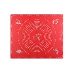 Коврик для выпекания Ardesto Golden Brown 50*60 см, красный, силиконовый (AR2406SR)