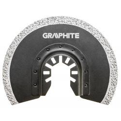 Круг Neo GRAPHITE до багатофункціонального інструменту, напівкруглий HM - вольфрамовое напилення, по кераміці, D85 мм (56H004)